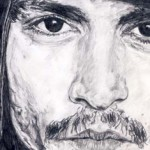 Johnny Depp Drawing by Ruth Burton Artist